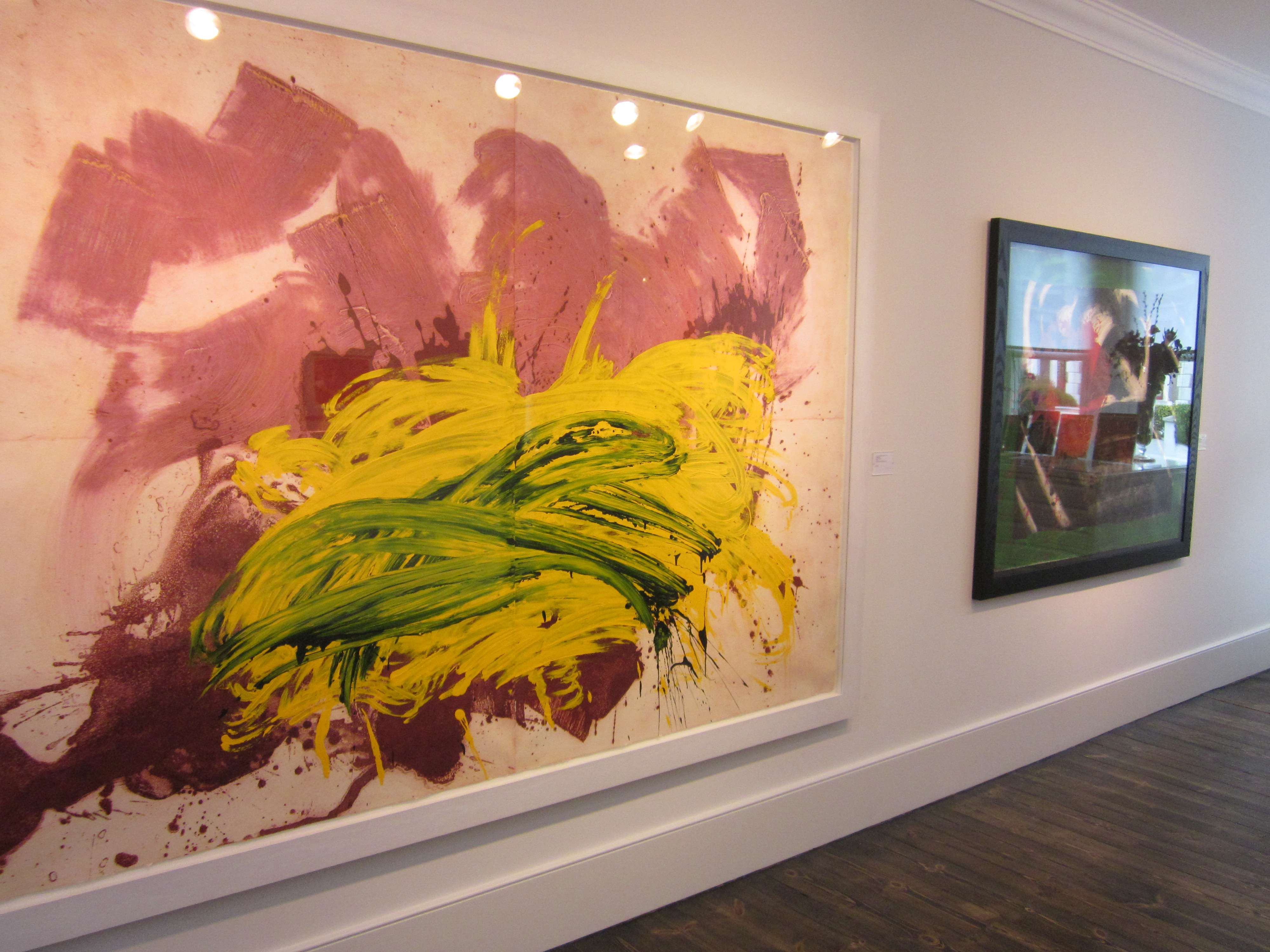 Howard Hodgkin At The Updown Gallery The Ramsgate Hovercraft
